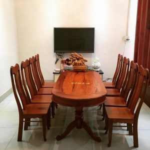 bàn ăn gỗ căm xe