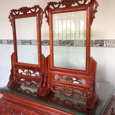 Khung ảnh thờ gỗ hương